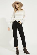 Gentle Fawn Fonda Pullover, Oatmeal Stripe