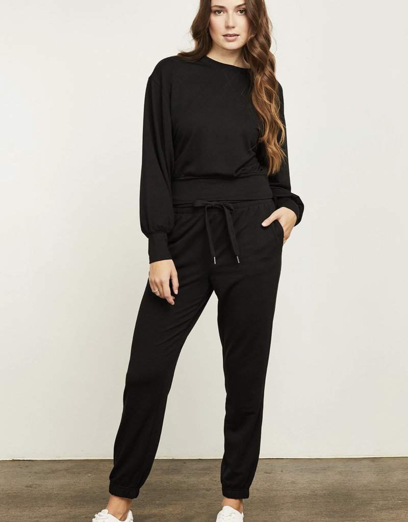 Gentle Fawn Ava Sweatshirt, Black