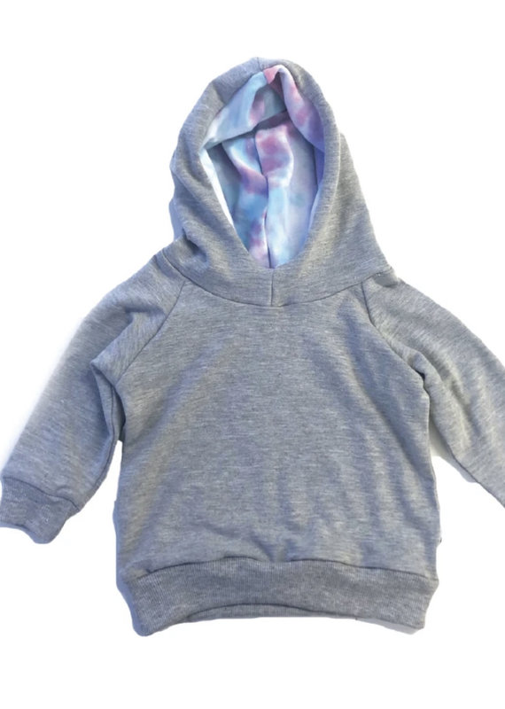 Portage & Main The Cotton Candy Tie Dye Hoodie