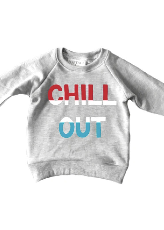 Portage & Main Chill Out Youth Raglan