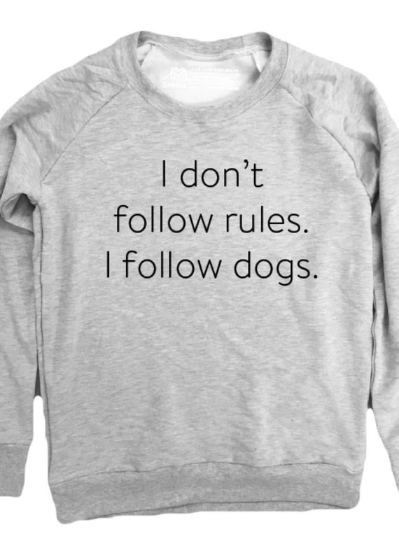 Portage & Main I Don't Follow Rules Youth Sweatshirt