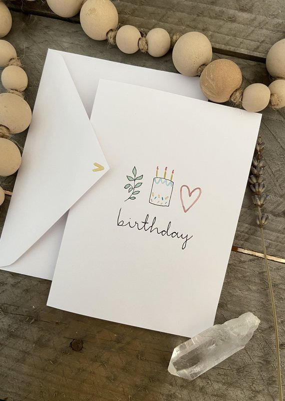 Gold Moon Artistry Birthday Trio Art Card