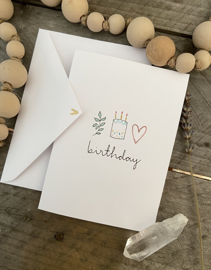 Gold Moon Artistry Birthday Trio Art Card
