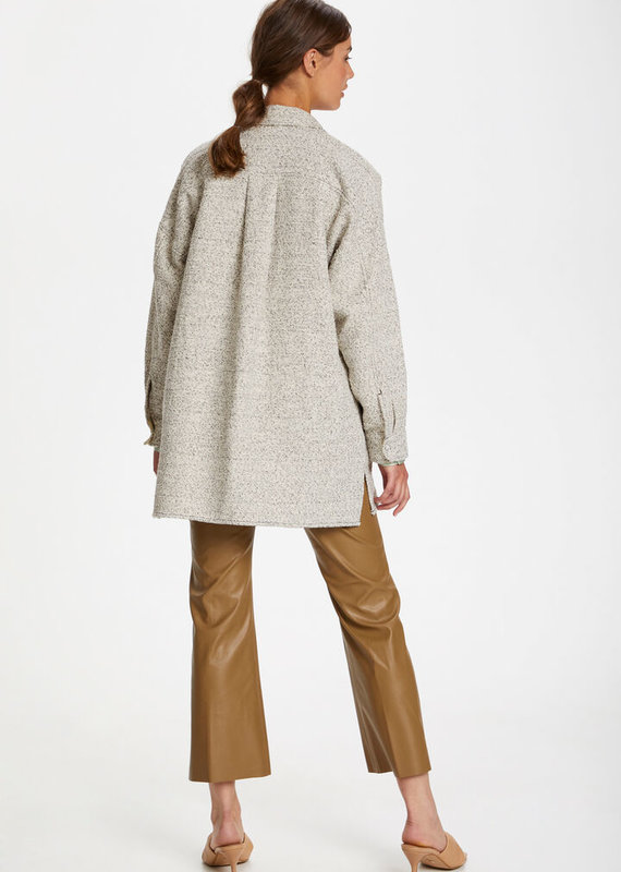 Soaked In Luxury Karee Coppola Shirt Jacket, White