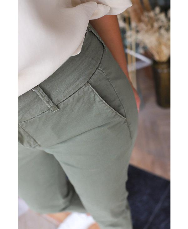Soffys Trouser, Vetiver