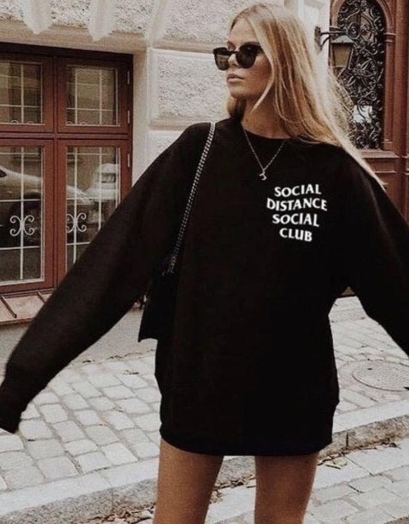 POSH POMEGRANATE Social Distance Club Crew