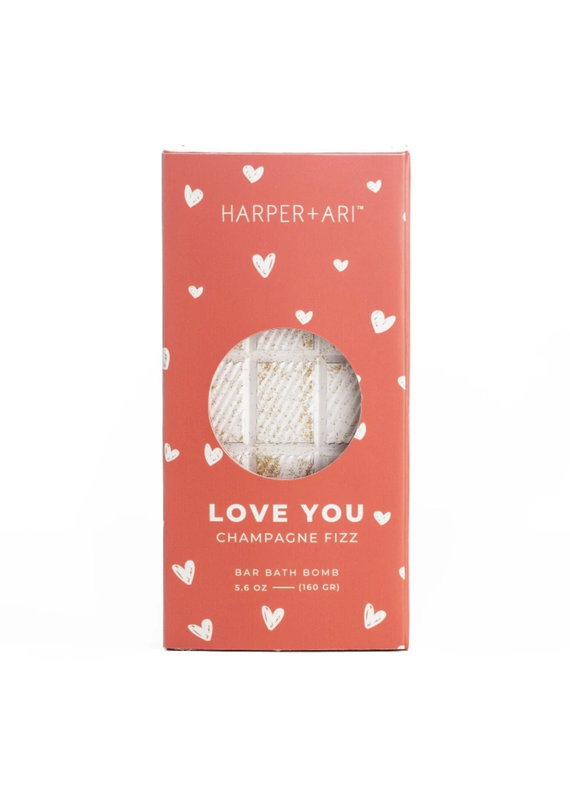 Harper + Ari Love You Champagne Bath Bar