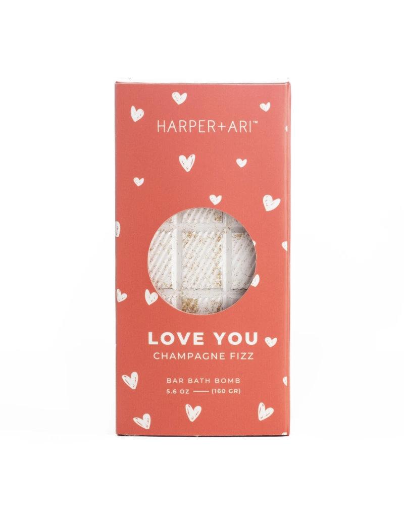 Harper + Ari Love You Champagne Bath Bar