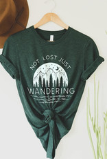 Alley & Rae Apparel Not Lost Tee, Emerald