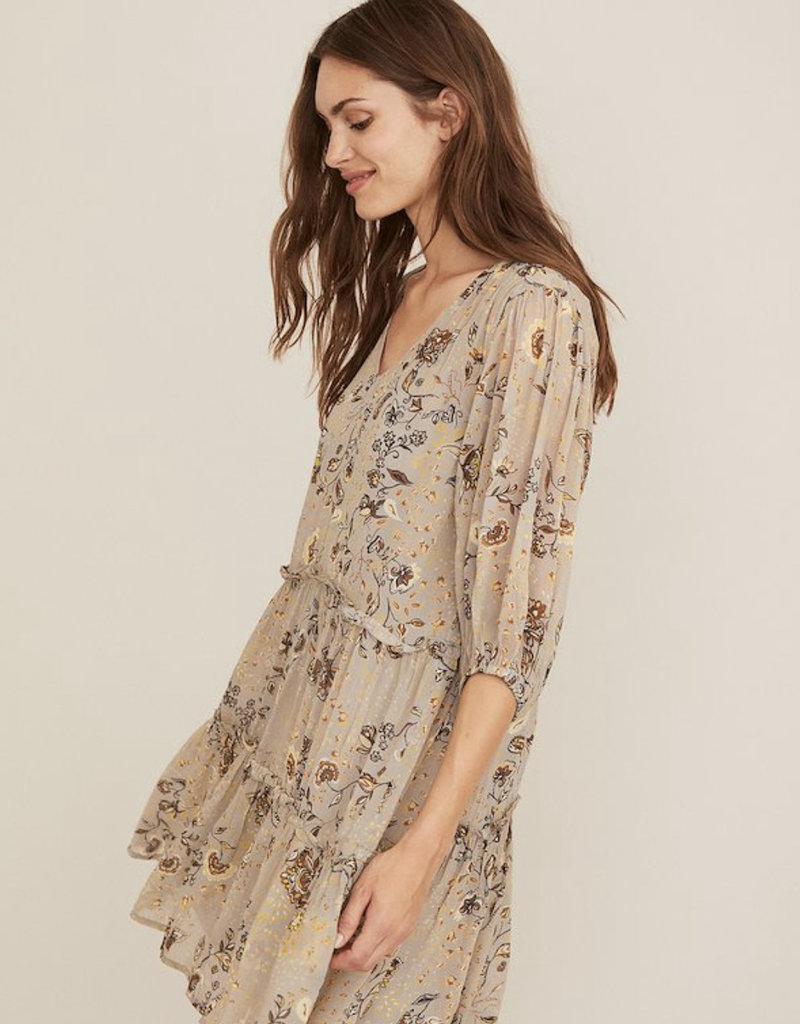 Part Two Hawra Dress, Flint Gray