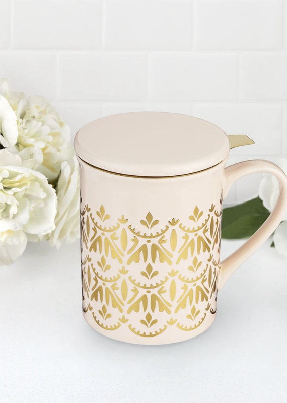 Pinky Up Annette Ceramic Mug Infuser