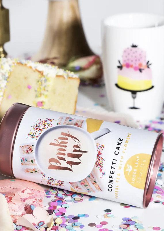 Pinky Up Confetti Cake Loose Tea