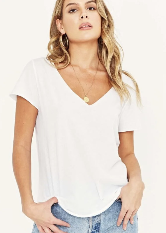 Project Social Moved On Tee, White