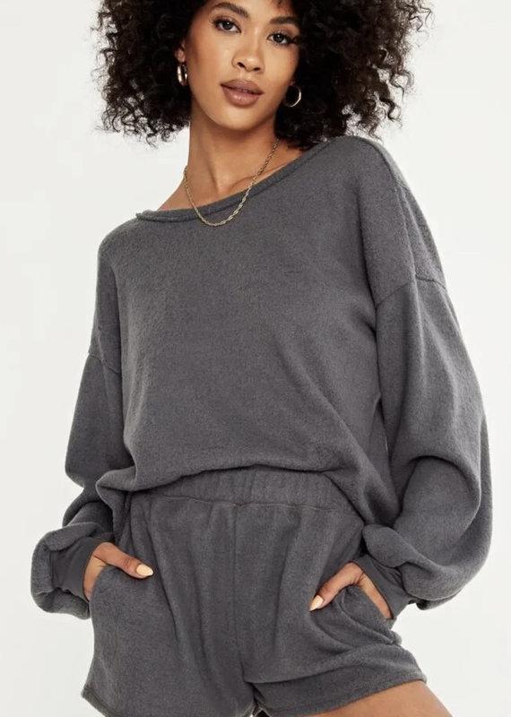 Project Social Higher Love Sweatshirt, Charcoal