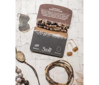Tourmaline Necklace, Stone of Healing