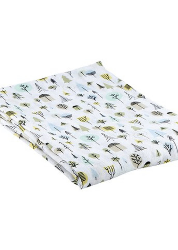 Stephan Baby Tree Swaddle Blanket