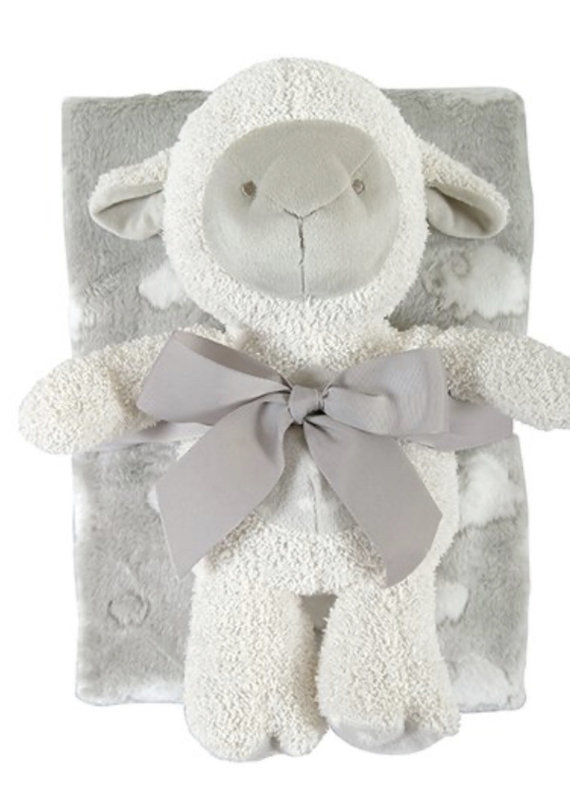Stephan Baby Lamb Blanket Toy Set