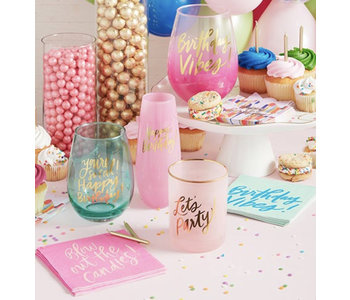 Blow Candles Napkins 20ct