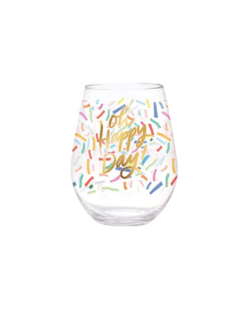 Slant Collections 30oz Stemless - Oh Happy Day