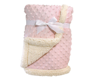 Sherpa Blanket, Pink