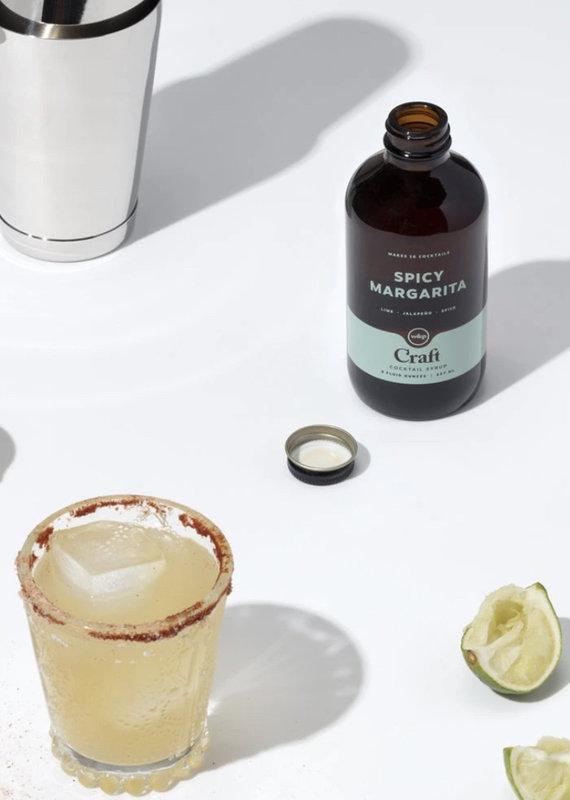 W&P Spicy Margarita Cocktail Syrup 8oz