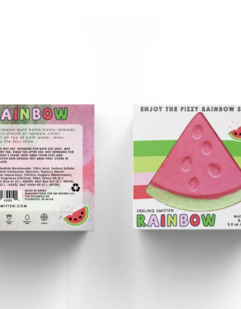 Feeling Smitten Watermelon Rainbow Bath Bomb