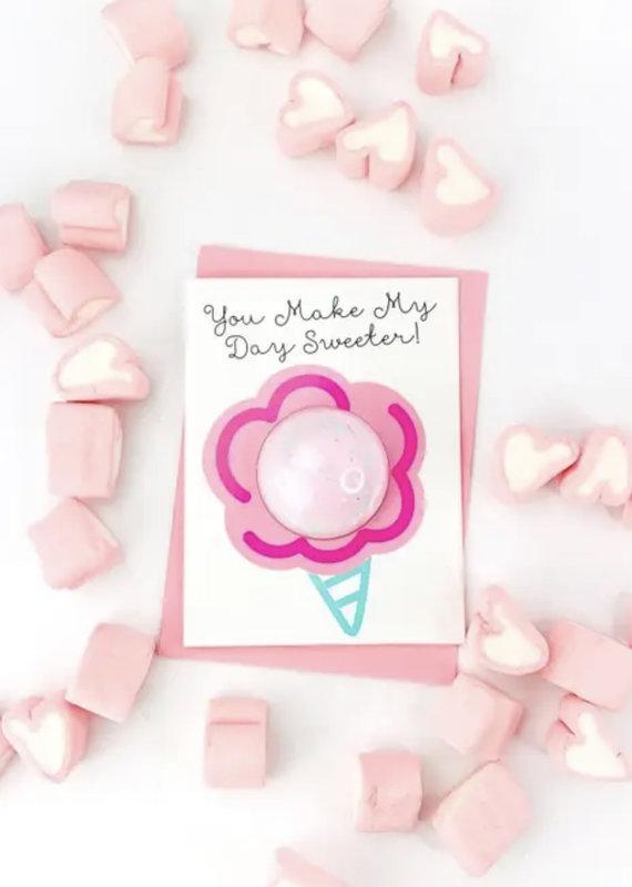 Feeling Smitten You Make My Day Bath Card