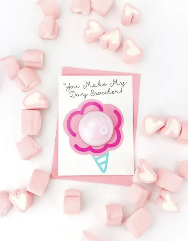 Feeling Smitten You Make My Day Bath Card