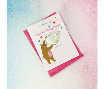 I Love You Beary Bath Card