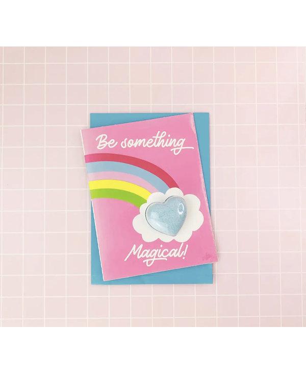 Be Something Magical Bath Card