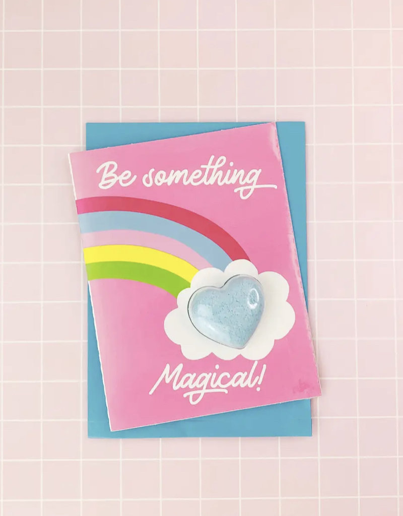 Feeling Smitten Be Something Magical Bath Card