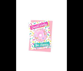 Donut Worry Bath Card