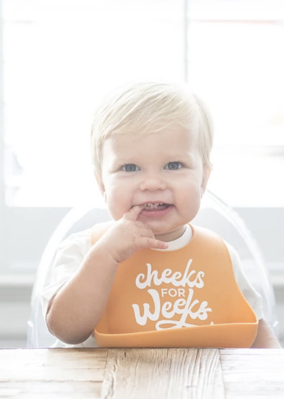 Bella Tunno Cheeks For Weeks Wonder Bib