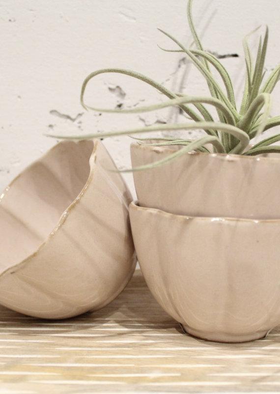 Indaba Trading Co. Amelia Bowl, Blush
