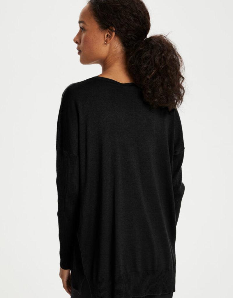 Kaffe Machelle Knit Pullover, Black