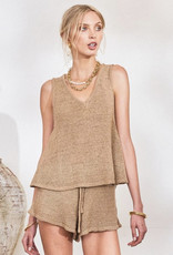Lost in Lunar Amy Knit Short Nude