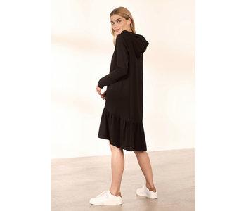 Dana Hoodie Dress, Black