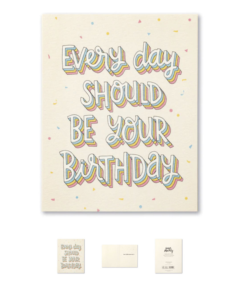Compendium Every Day Should Be Your Birthday