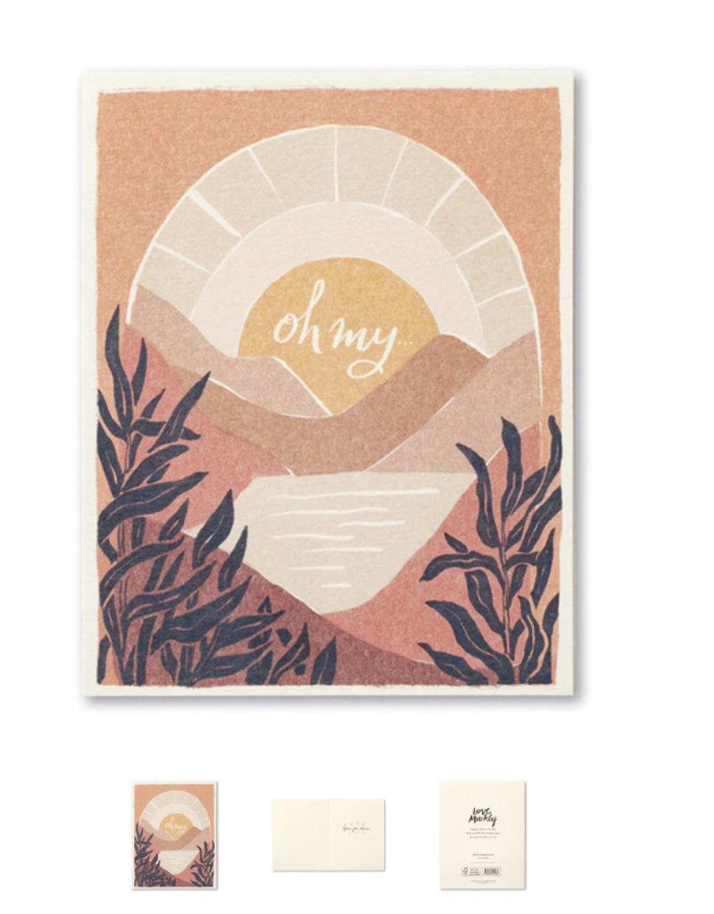 Compendium Oh My, Encouragement Card