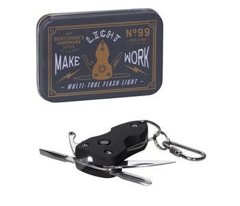 Pocket Multi Tool with Flashlight