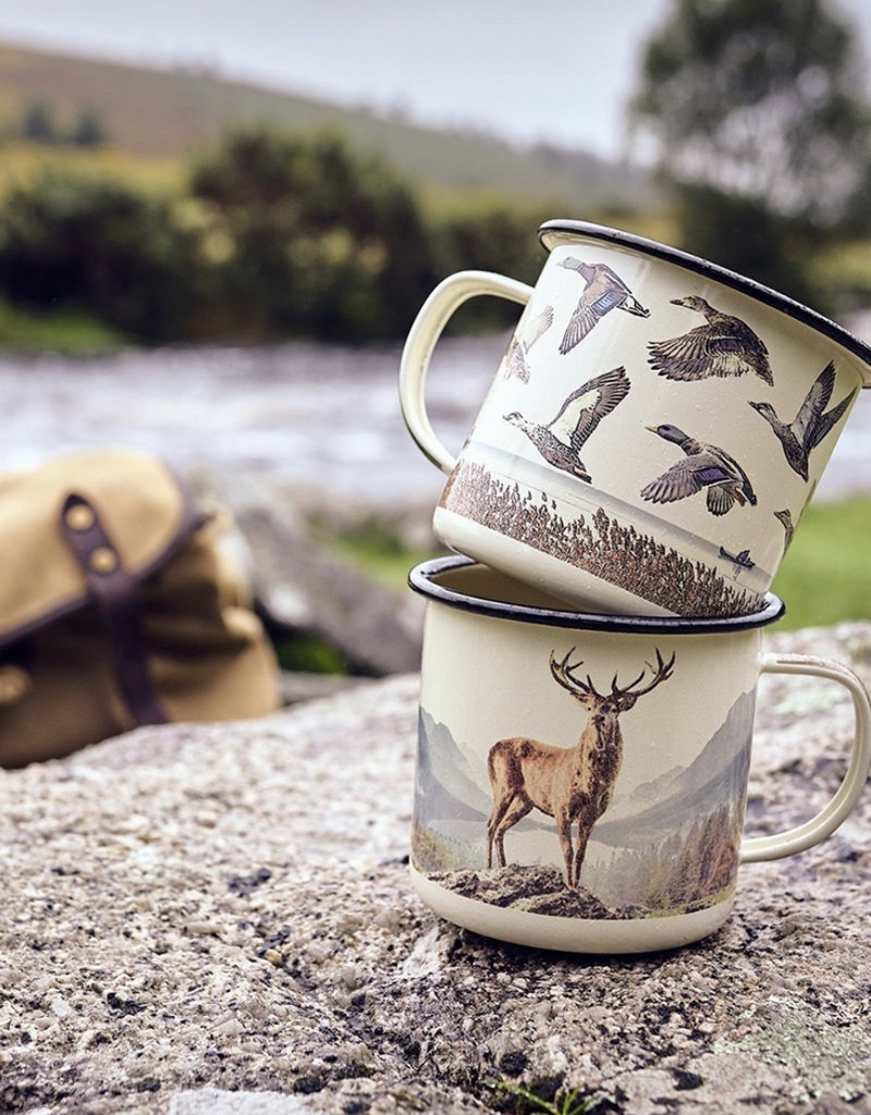 Gentleman's Hardware Enamel Cup - Deer