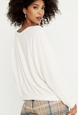 Project Social Deni Sweatshirt, Ivory