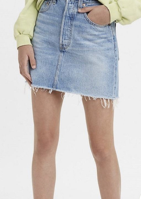 Levi Strauss & Co. Ribcage Skirt, Bernal Tide