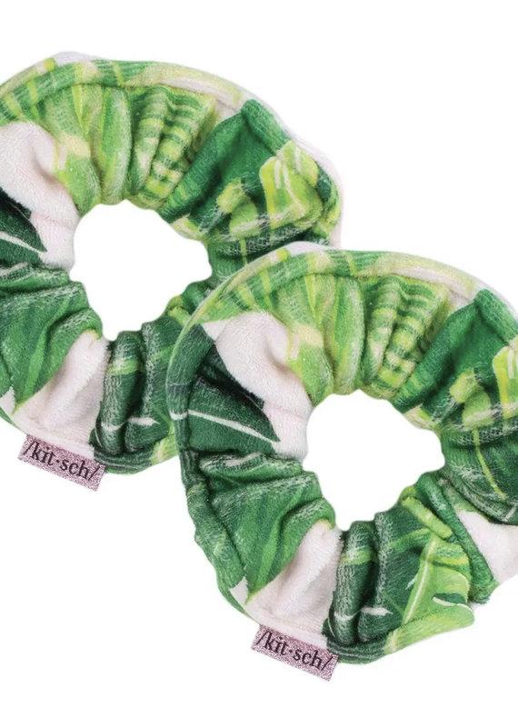 KITSCH Microfiber Towel Scrunchies - Palm