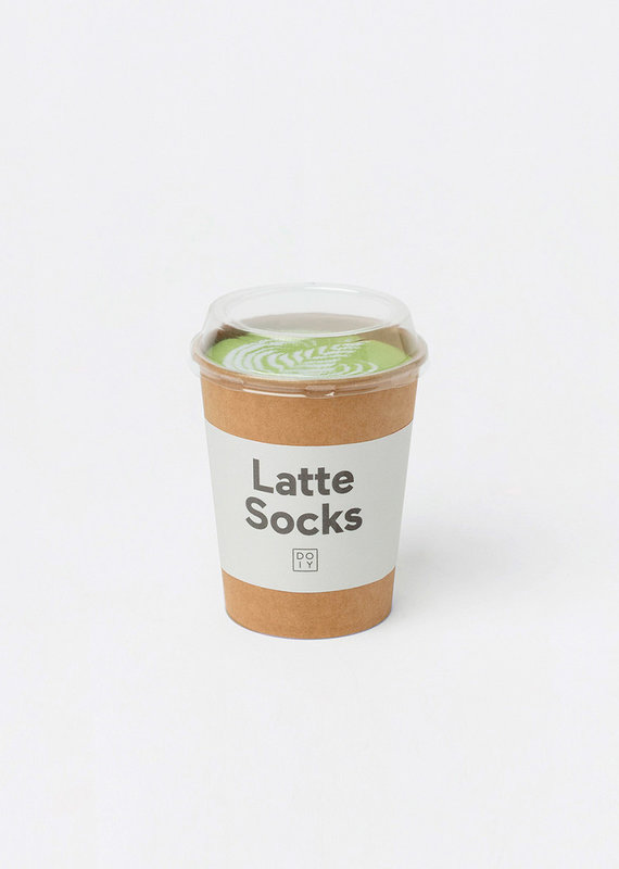 DOIY Design Latte Socks, Matcha