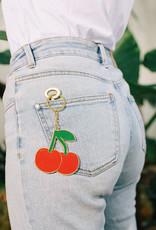 DOIY Design Cherry Oversized Keychain