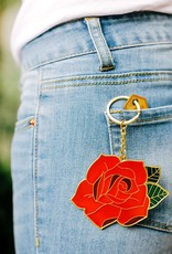 DOIY Design Rose Oversized Keychain