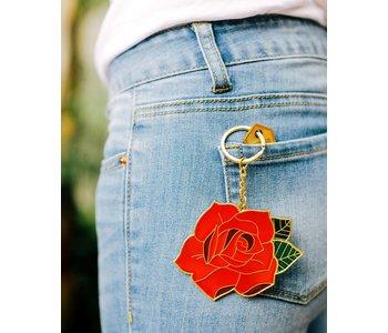 Rose Oversized Keychain