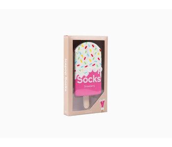Icepop Socks, Strawberry