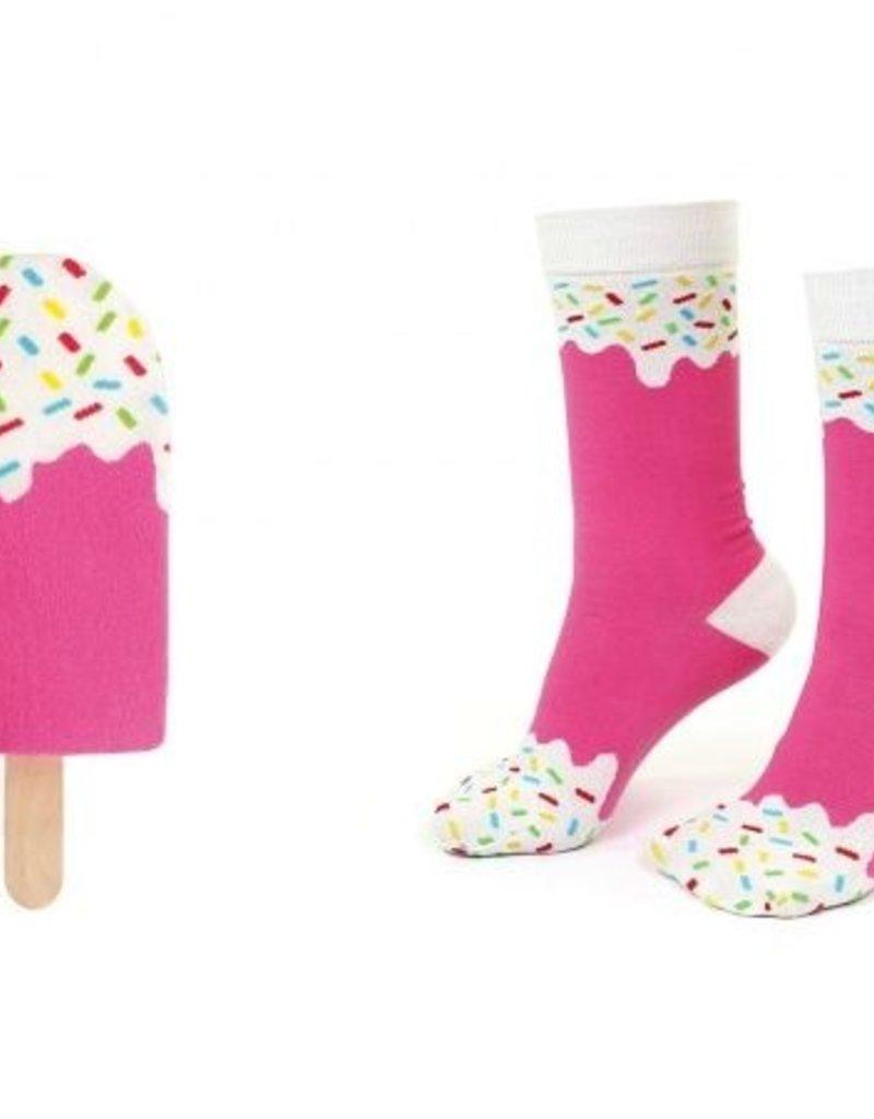 DOIY Design Icepop Socks, Strawberry